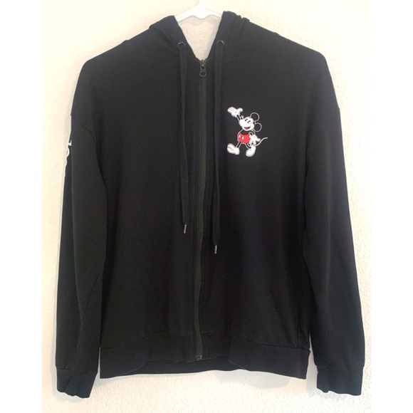 Disney Other - Disney Mickey Mouse Kid's black hoodie large 11/13